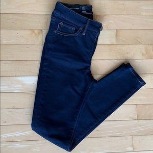 Armani exchange super skinny jean, size 25S